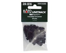 NEW KATO N Scale : 24-816 UNITRACK Insulated Unijoiner 20 pcs / AIRMAIL Only