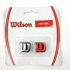 Wilson PRO FEEL Dampener Tennis Racquet Damp Racket Vibration WRZ537600 2 Pack