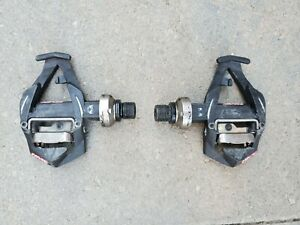 Used TIME clipless Road Pedals