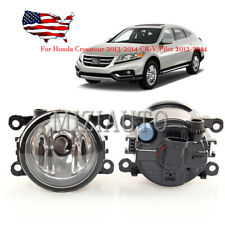 Fog Light Lamp For Honda Crosstour 13-2014 CR-V/Pilot 2012-2014 w/ H11 Bulb PAIR