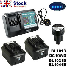 10.8V-12V Replace Makita BL1041B BL1021B Battery & Charger DC10WD BL1015 DF031D