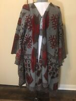 American Eagle Aztec Poncho Sweater Womens One Size- Drag Queen