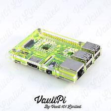 Green Acrylic Case for Raspberry Pi 3 Model B VaultPi