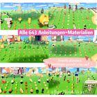 🏝 1 Stunde alle 643 Anleitungen+Materialien🥳 Animal Crossing New Horizons
