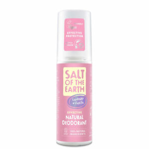 SALT OF THE EARTH PURE AURA NATURAL DEDORANT SPRAY FOR GIRLS - LAVENDER/ VANILLA