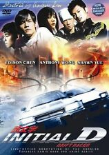 Initial D   - Hong Kong Kung Fu Martial Arts Action movie DVD - NEW DVD