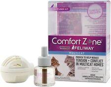 Comfort Zone Feliway Cat Kitten Calming Diffuser Kit Plug In *Help Save Animals*