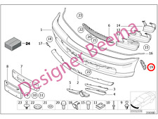 BMW 3' Series E46 Support Fender Bumper Guide (Right) (JS)