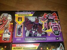 Transformers Walmart G1 Reissue Exclusive Headmasters Wave 1 Mindwipe