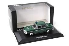"1:43 Norev Audi 72 ""POLIZEI"" green NEW bei PREMIUM-MODELCARS"