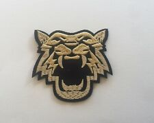 Angry Tiger Iron / Sew On Embroidered Patch Appliqués Badge