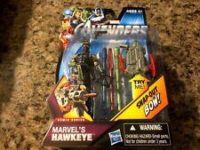 "The Avengers MARVEL'S HAWKEYE #05 Clint Barton 3.75"" Action Figure Comic Series"