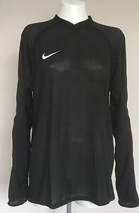 BLACK PADDED SLEEVED GOALKEEPERS UNDER JERSEY BY NIKE SIZE MEN'S XL BRAND  NEW