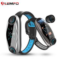 LEMFO LT04 Sport Smart Watch With Earphones Heart Rate Monitor Fitness Tracker
