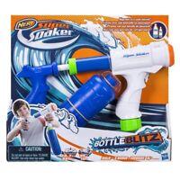 LOOK!!! NERF! Super SOAKER Bottle Blitz 10 Metre Range! WATER PISTOL SUN FUN! :)