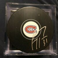 Carey Price Montreal Canadiens Signed Autographed Puck