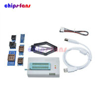 TL866II Plus Programmer USB EPROM Flash BIOS Adapters Socket Extractor Fit 13000