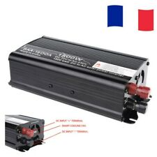 Convertisseur DC 12V à AC 220V pur sinus Onduleur Inverter Voiture Power 1500W