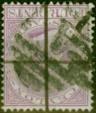 More details for ceylon 1872 4c rosy mauve sg123w wmk inverted ave used no faults cv £225
