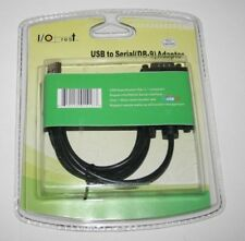 IOCrest USB 1.1 to Serial Port DB9 RS232 Convertor Adapter- US Seller