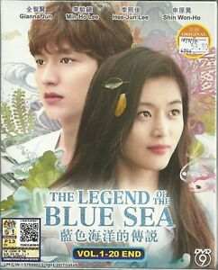 THE LEGEND OF THE BLUE SEA - COMPLETE KOREAN TV SERIES DVD (1-20 EPS) (ENG SUB)