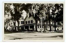 Grand View Hotel RPPC Mount Dora FL Vintage Photo ca. 1940s