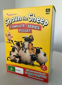 Shaun The Sheep : Complete Series 1-5 (DVD, 2019, 7-DIsc Set) FREE POSTAGE