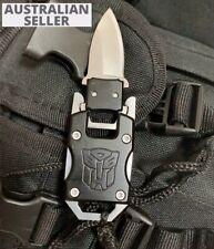 Pocket knife Small Mini gift hunting blade camping Tool Safety Keyring EDC