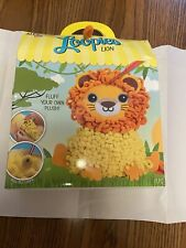 New Alex Diy Loopies-Lion Arts and crafts Toy