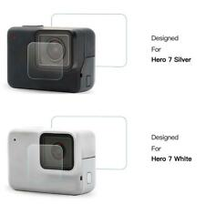 Shoot Tempered Glass Film Anti-scratch Accesory Kit for GoPro Hero7 Silver/White