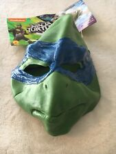 Teenage Mutant Ninja Turtles Adult Mask Halloween Leonardo 14 Yr +