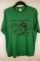 VTG Summer Olympics T Shirt - RARE 1984 Los Angeles w/ Front Pocket Sz XL