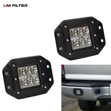 2pc18W SPOT LED Work Light bumper push mount Pod Ford Jeep 4X4 Off-Road ATV Jeep