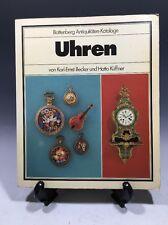 Uhren by Karl-Ernst Becker, Hatto Kuffner and Hatto Kèuffner (1978, Illustrated)