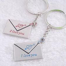porte-clés nouveau accessoires style enveloppe cadeaux je t'aime amoureux chaud