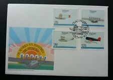 Portugal Airplanes 1987 Transport Vehicle Aeroplane Aviation (stamp Fdc)