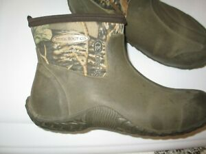 Cabelas MUCK BOOTS Size 10 / 10.5 Mens Camo Ankle Waterproof Seclusion 3D