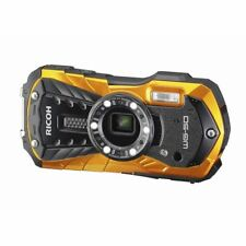 RICOH Waterproof Digital Camera RICOH WG-50 OR Orange 16MP from Japan New