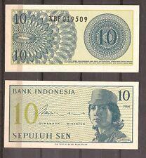 Indonesie - 1964 - Bankbiljet - 10 SEN - UNC