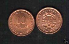 PORTUGUESE INDIA 10 CENTAVOS KM-30 1961 UNC MONEY INDIAN ASIA SAARC ASIAN COIN