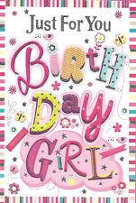 Buy for girls birthday greeting cards ebay various open general female girls birthday cards new m4hsunfo