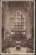 Gloucestershire Postcard - Gloucester Cathedral - The East Window  RS2111