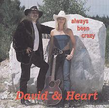Countryduo David & Heart-CD-always been Crazy