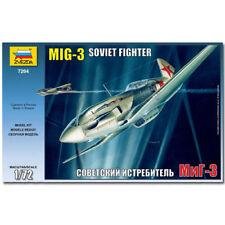 ZVEZDA 7204 MIG-3 SOVIETICO Aerei da Combattimento modello kit 1:72