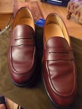 GENUINE TOD'S BROWN LEATHER SLIP ON SHOES DIMPLED SOLES SIZE 40 7