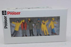 Preiser 68214 Arbeiter Industriearbeiter  1:50 Figuren  NEU in  OVP
