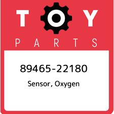89465-22180 Toyota Sensor, oxygen 8946522180, New Genuine OEM Part