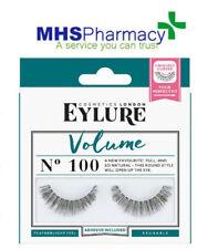 3x EYLURE Eyelure Naturalites False Lash Eyelashes Volume 100 UK SELLER