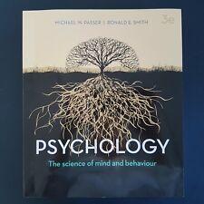 Psychology 3E Aus NZ The Science of Mind and Behaviour Michael Passer
