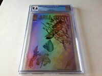 ARIA ANGELA HEAVENLY CREATURES 1 CGC 9.6 QUESADA HOLOFOIL VARIANT IMAGE COMICS
